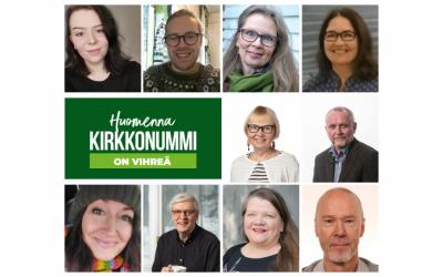 Kirkkonummen Vihreille ehdokasennätys kevään kuntavaaleihin!